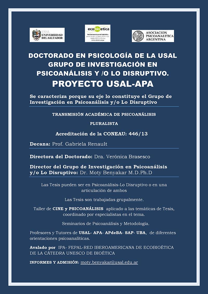 Afiche APA-DOCTORADO