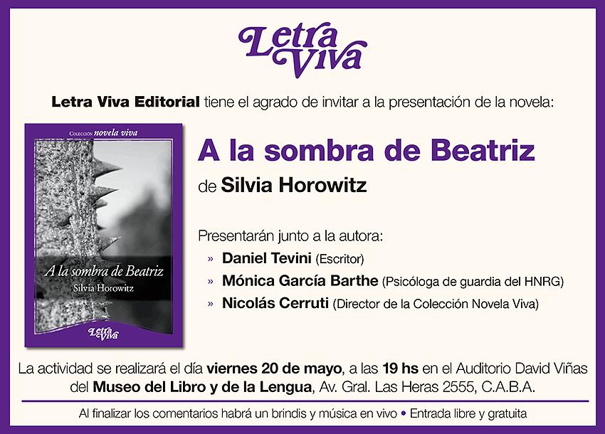 Presentación Letra Viva