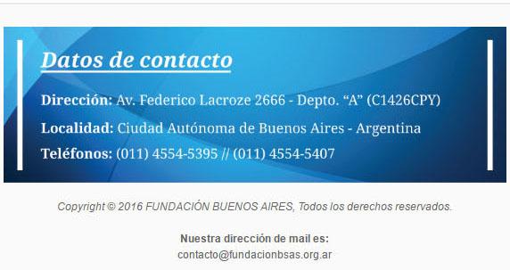 Fundación Buenos Aires