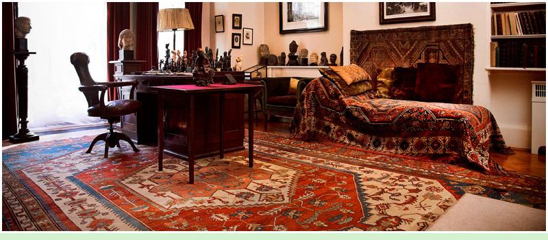 Estudio de Sigmund Freud en la Casa Museo Freud, Londres.