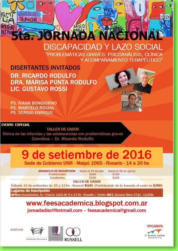 5ta. Jornada Discapacidad y Lazo Social.