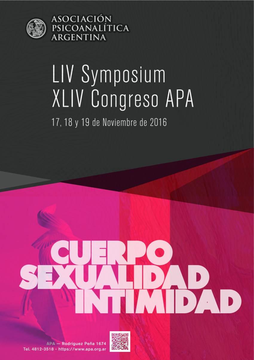 APA. LIV Symposium - XLIV Congreso