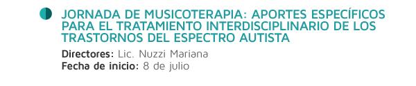 Jornada musicoterapia