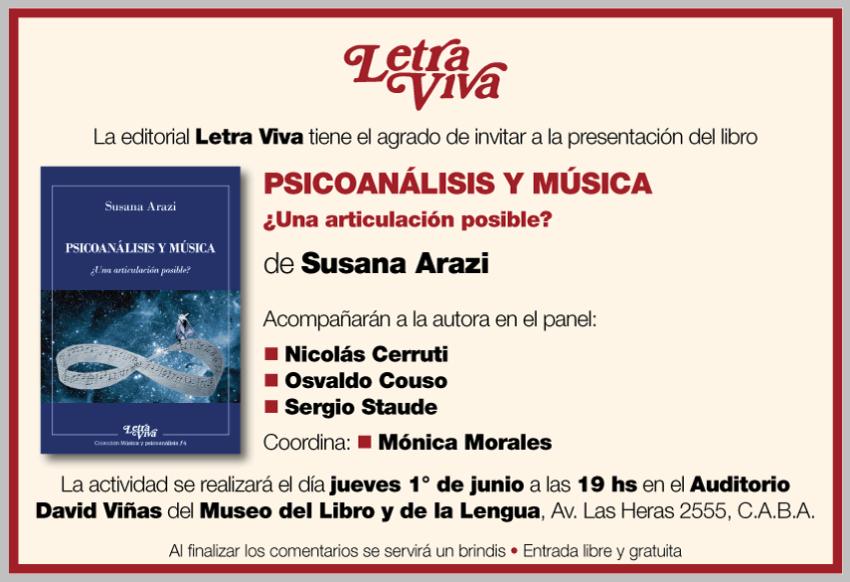 Afiche Presentación Letra Viva