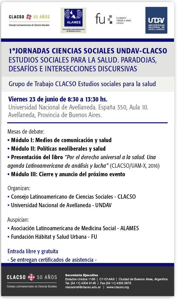Jornadas UNDAV-CLACSO