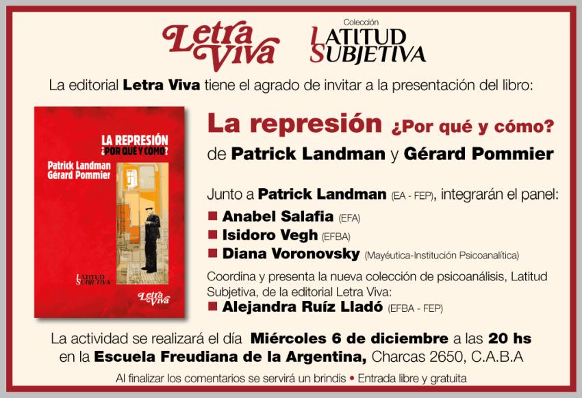 Afiche Presentació Letra Viva