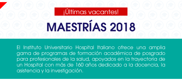 Maestrías 2018