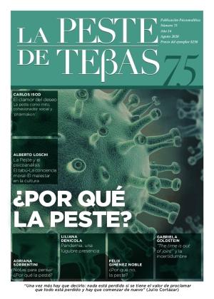 La Peste de Tebas. Publicación psicoanalítica.